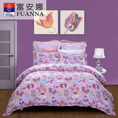 Anna textile children cotton sijiantao 1.5m double cotton gauze bedding bedding Fairy 1.5m (5 feet) bed