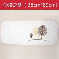 Germany imports bathroom mat, rubber mat, pregnant women's shower room, shower room, toilet, children's hollow mat The desert tree 38X89cm long X wide