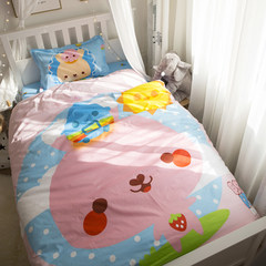 Ins net red cotton kits, cartoon cute children single cotton three piece suite, student dormitory four cotton bunk Bunny 1.2m (4 ft) bed.