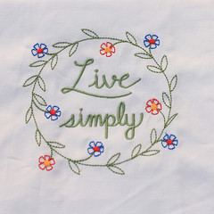 Japanese table cloth pastoral style small fresh embroidery table mat household tablecloth cloth table mat ZAKKA napkin Live simply life