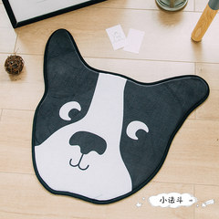 The original adorable cute cartoon animal shape, small door cushion, baby cushion, bedroom, living room, bathroom antiskid mat Custom size please consult customer service MYA- small dipper