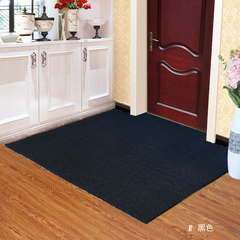 It can be cut out and thickened silk circle floor mat to enter the door. 2300MM coil black