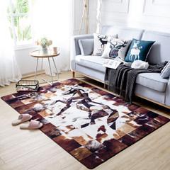 The original cow fur goods mosaic classic American minimalist modern living room carpet carpet carpet table mats anti-skid mat 200CM× 300CM coat