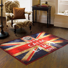 The influx of goods the British flag Jack home table pad blanket entrance mat mat mat Retro Old 60× 120CM British flag