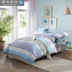 Textiles - cotton bedding printing sijiantao - loranca cotton stripe simple kit 1.5m (5 feet) bed