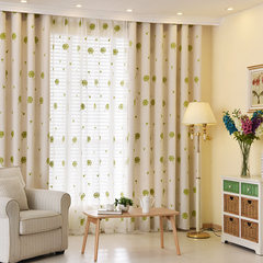 The shading Korean garden fresh embroidered lace curtains finished custom curtains Princess bedroom living room window You can edit it after you select it