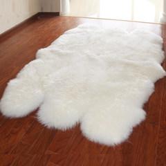 Australia sheepskin pure wool carpet, living room, coffee table carpet, IKEA cushion, sofa carpet, bedroom blanket 6P custom made 140cm*200cm