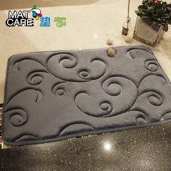 The kitchen bedroom door mat flannel entrance door carpet water toilet mat anti-skid mat Hall 40× 60CM