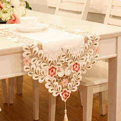 Table runner tablecloth table cloth bed mat's cabinet's long cloth cloth embroidered cloth Wudougui European Garden Macchiatto 80*80cm