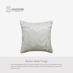 Shadow/ Chinese on package / housing / cushion / pillow advanced traditional culture / new Chinese style / auspicious clouds 45X45cm [containing pillow]