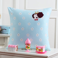 Mercury home textile, pure cotton pillowcase, back cushion set, cartoon cushion cover without core 45*45cm (not only sold) Trumpet (45*24 cm)