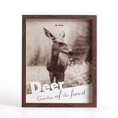 10 inch American wedding photo frame set up an A4 business license like frame creative photo frame simple picture frame hanging wall 10 inch coffee deer