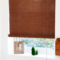 The high-end custom bamboo mildew bamboo curtain shutter living room balcony garden 203-03 carbon color shading