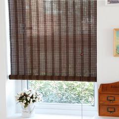 The high-end custom bamboo bamboo curtains curtains curtain study balcony bamboo curtain walnut 201-26