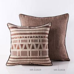 The inscription is [house] neo classical European linen model Hotel soft outfit sofa cushion pillow core Super square pillow: 55X55cm
