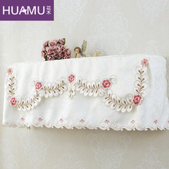 Rural embroidery air conditioner cover, American country European style all inclusive hanging wall hanging cover of air conditioner Table runner 30&times 180cm;