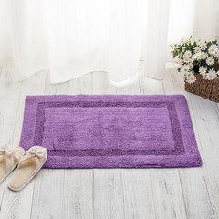 Bathroom sanitary absorbent mats cushion door mat Hakesa plain cotton bathroom mats 51*77cm