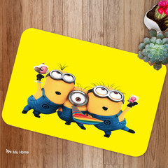 The cartoon in home living room cleaning pad mat stair foot pad bedroom kitchen bathroom absorbent mat
