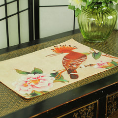 Chinese meal mat, home decoration, cloth mat, table mat, bowl mat, coaster, heat insulation mat, tableware MAT PAD Customized do not change, take the change