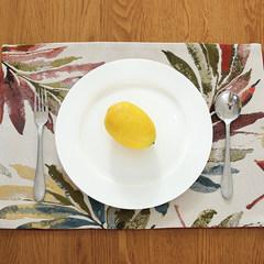 American country meal pad, 30*45cm table mat, heat insulation pad, rectangular table mat, coaster, bowl mat, mat 90*120cm
