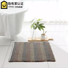 [bathroom] Peninsula good sanitary anti-skid pad, water honeycomb pad, bathroom door mat can be washed machine 40× 60CM