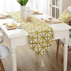 Simple modern restaurant gift table desk table linen cloth banner Nordic decorating strip bed towel 90*120cm