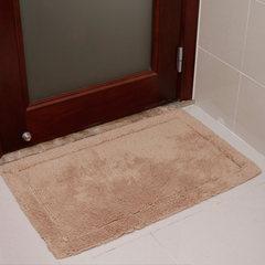 Absorbent mat, floor mat, bathroom, bathroom door, anti slip mat, cotton Plush bath mat, carpet mat, about 50*80cm