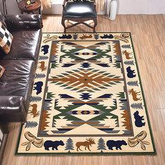 Gentleman dog, American garden bedroom, bedside blanket, living room, coffee table, sofa, study chair, office carpet, TM-76 1950MM× 2900MM presale TM_76IV Beige