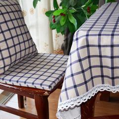 Zhengxinjieyuan checked tablecloth table cloth cloth cotton pastoral small fresh tea table cloth cloth cloth custom shipping Fresh Lange 80*80cm