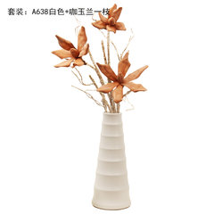 FLOWER FLOWER FLOWER dining table Bucherer fashion vase simple Home Furnishing jewelry A638 living room decoration A638+ coffee Magnolia