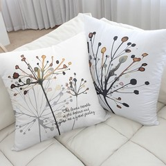 The Korean production of direct mail sofa covers modern minimalist living creative office apron cushion pillow mist flowers Super Deluxe: 60x60cm 2 piece suit