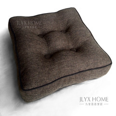 European style simple style fashionable cushion, Japanese tatami floating window table thickening and increasing cushion. Summer and winter cushion is 55 yuan / width 1.4 meters, coffee 8cm plain height.