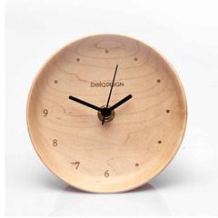 The original wooden clock originally designed living room decorative clock clock sun movement maple wood logs You can edit it after you select it Maple platter clock