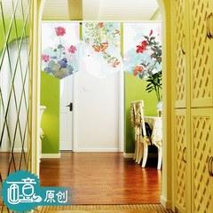Special price: bathroom bathroom door curtain, semi-curtain, soft partition, hanging curtain, garden broken flower curtain, 100 sets of curtain