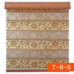Korean gold silk jacquard soft gauze curtain thickening double-layer zebra curtain shutter shutter curtain bedroom thickening shade printing t-8-5