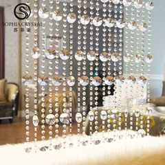 Sophia pearl curtain finished crystal pearl curtain new style door curtain porch partition bar wine cabinet shoes cabinet screen hanging curtain style 5