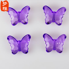 Special price DIY acrylic crystal pearl curtain porch partition toilet door curtain living room curtain butterfly beads beads beads butterfly pink butterfly