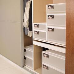 抽屉式收纳柜子塑料衣柜收纳盒衣服收纳箱多层加厚儿童储物柜鞋柜 满200送F185抽屉一个 单个(白色外框+磨砂透明抽屉)