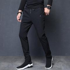 Sport pants, men's casual pants, men's Korean pants, trend 2017, autumn and winter trousers, Haren pants, autumn pants, men Thirty-eight K818 black