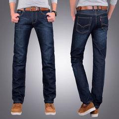 Winter denim jeans Thirty-eight 858 without black velvet