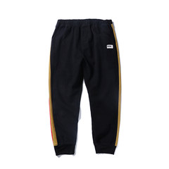 @ Aberdeen literary men in autumn and winter sports men's trousers stripes upon baggy pants pants trend of Korean S black