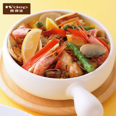 Answer: Japan Kdep pan fried steak treasure pan fried pot baking Mini without coating Saucepan set / chocolate