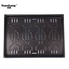 Edge roasting pan, rectangular baking plate, commercial electric baking oven, medical stone, non stick barbecue tray, divided baking strip Lattice baking tray