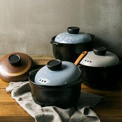 A meal high temperature ceramic soup pot casserole casserole stew soup pot casserole stew fire stone home health pot Annual casserole