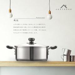 [a] special offer binaural small saucepan 20cm complex bottom 304 stainless steel pot soup pot stew 20cm pot