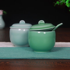 50 percent off new Longquan celadon ceramic pot stew stew soup cup nest Mini snow clam stew pot small stew Braised rice bowl of Qing Qing 3