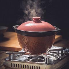 Korean household cooking pot casserole fire resistant double cover health pot pot stew pot pot rice cooker Steamed Rice Rice cooker