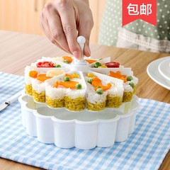 Love rice mold, children rice ball sushi, small tools, creative kitchen products, baking food grinder