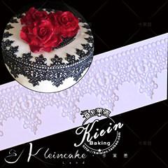 欧式皇冠形翻糖硅胶蕾丝模婚庆翻糖蛋糕花边模具烘焙模型工具烘培