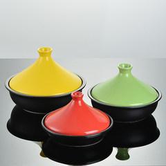 Tagine ceramic casserole casserole pot Taji soup stone pot South Korea tower Ji pan Medium red